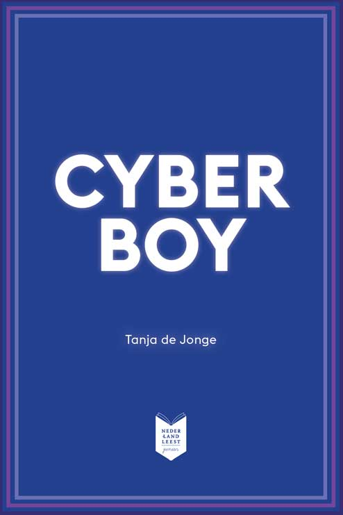 Cover Cyberboy Nederland Leest Junior